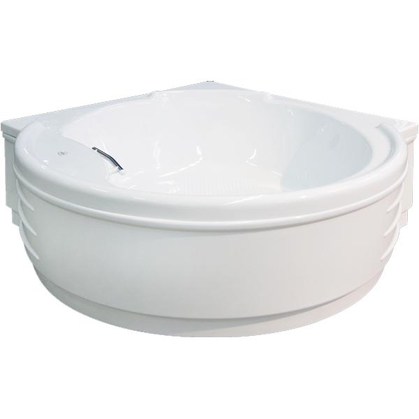 Маршал 159x159 с гидромассажемВанны<br>Акриловая ванна Bellrado Маршал 158.5х158.5х60 см в форме четверти круга, армированная.<br>Ванна изготовлена из литьевого акрила, литой лист толщиной 6 мм, и усилена стекловолокном с полиэфирными смолами. Толщина стенок – 6-7 мм. Усиливающие дно и места крепления корпуса элементы, толщина – 22-24 мм. Лицевой слой – акрил ПММА, устойчив к царапинам, УФ лучам, коррозийному и химическому воздействию, долго сохраняет блеск.<br>Цвет чаши ванны: чистый холодный белый. <br>Ванна Маршал прекрасно подойдет для ванных комнат стандартного размера.В данную комплектацию входит 7 гидромассажных джет. Расположение форсунок выверено с анатомической точки зрения. Джеты регулируются по направлению и силе массажной струи, а также по количеству воздуха (чем больше воздуха в струе, тем она шире и мощнее). Таким образом, гидромассаж можно настроить индивидуально. Благодаря креплению двигателя к подставке ванны с помощью амортизаторов, снижающих шум и вибрацию, гидромассаж работает практически беззвучно.<br>В комплекте поставки:<br>акриловая чаша ванны<br>стальной каркас – надежная конструкция, профиль 25х25, толщина 1,5 см, порошковое напыление, не поддается коррозии<br>слив-перелив Vega полуавтоматодна ручка7 гидромассажных джет Sirem (Франция) с мощностью 900 Вт.<br>Уход: с использованием безабразивных мягких средств. <br>Данная ванна реставрируема (из ремонтнопригодного материала).<br>