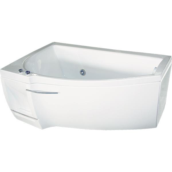Мэги 140x85 с гидромассажем LВанны<br>Акриловая ванна Bellrado Мэги 140х85х63 см асимметричной формы, армированная.<br>Ванна изготовлена из литьевого акрила, литой лист толщиной 5 мм, и усилена стекловолокном с полиэфирными смолами. Толщина стенок – 6-7 мм. Усиливающие дно и места крепления корпуса элементы, толщина – 22-24 мм. Лицевой слой – акрил ПММА, устойчив к царапинам, УФ лучам, коррозийному и химическому воздействию, долго сохраняет блеск.<br>Цвет чаши ванны: чистый холодный белый. <br>Ванна Мэги прекрасно подойдет для ванной комнаты стандартного размера. <br>В данную комплектацию входит 5 гидромассажных джет. Расположение форсунок выверено с анатомической точки зрения. Джеты регулируются по направлению и силе массажной струи, а также по количеству воздуха (чем больше воздуха в струе, тем она шире и мощнее). Таким образом, гидромассаж можно настроить индивидуально. Благодаря креплению двигателя к подставке ванны с помощью амортизаторов, снижающих шум и вибрацию, гидромассаж работает практически беззвучно.<br>В комплекте поставки:<br>акриловая чаша ванны<br>стальной каркас – надежная конструкция, профиль 25х25, толщина 1,5 см, порошковое напыление, не поддается коррозии<br>слив-перелив Vega полуавтомат<br>5 гидромассажных джет Sirem (Франция) с мощностью 900 Вт.<br>Уход: с использованием безабразивных мягких средств. <br>Данная ванна реставрируема (из ремонтнопригодного материала).<br>Данная комплектация (левосторонняя) устанавливается в правый угол.<br>