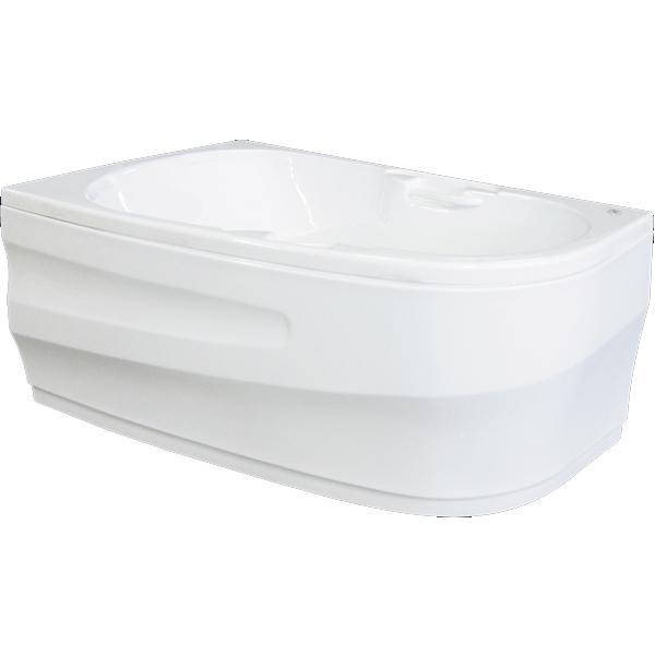 Дени 150x100 без гидромассажа RВанны<br>Акриловая ванна Bellrado Дени 149,5х99,5х70,5 см асимметричной формы, армированная.<br>Ванна изготовлена из литьевого акрила, литой лист толщиной 5 мм, и усилена стекловолокном с полиэфирными смолами. Толщина стенок – 6-7 мм. Усиливающие дно и места крепления корпуса элементы, толщина – 22-24 мм. Лицевой слой – акрил ПММА, устойчив к царапинам, УФ лучам, коррозийному и химическому воздействию, долго сохраняет блеск.<br>Цвет чаши ванны: чистый холодный белый. <br>Ванна Дени прекрасно подойдет для ванной комнаты небольшого размера или для установки в совмещенный санузел. <br>В комплекте поставки:<br>акриловая чаша ванны<br>стальной каркас – надежная конструкция, профиль 25х25, толщина 1,5 см, порошковое напыление, не поддается коррозии<br>слив-перелив Vega полуавтомат<br>Уход: с использованием безабразивных мягких средств. <br>Данная ванна реставрируема (из ремонтнопригодного материала).Данная комплектация (правосторонняя) устанавливается в левый угол.<br>