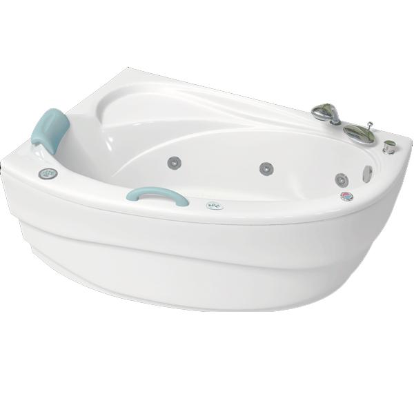 Глория 150x100 с гидромассажем RВанны<br>Акриловая ванна Bellrado Глория 150х100х63 асимметричной формы, армированная.<br>Ванна изготовлена из литьевого акрила, литой лист толщиной 5 мм, и усилена стекловолокном с полиэфирными смолами. Толщина стенок – 6-7 мм. Усиливающие дно и места крепления корпуса элементы, толщина – 22-24 мм. Лицевой слой – акрил ПММА, устойчив к царапинам, УФ лучам, коррозийному и химическому воздействию, долго сохраняет блеск.<br>Цвет чаши ванны: чистый холодный белый. <br>Ванна Глория прекрасно подойдет для ванной стандартного размера. В данную комплектацию входит 6 гидромассажных джет. Расположение форсунок выверено с анатомической точки зрения. Джеты регулируются по направлению и силе массажной струи, а также по количеству воздуха (чем больше воздуха в струе, тем она шире и мощнее). Таким образом, гидромассаж можно настроить индивидуально. Благодаря креплению двигателя к подставке ванны с помощью амортизаторов, снижающих шум и вибрацию, гидромассаж работает практически беззвучно.<br>В комплекте поставки:<br>акриловая чаша ванны<br>стальной каркас – надежная конструкция, профиль 25х25, толщина 1,5 см, порошковое напыление, не поддается коррозии<br>слив-перелив Vega полуавтомат6 гидромассажных джет Sirem (Франция) с мощностью 900 Вт.<br>Уход: с использованием безабразивных мягких средств. <br>Данная ванна реставрируема (из ремонтнопригодного материала).Данная комплектация (правосторонняя) устанавливается в левый угол.<br>
