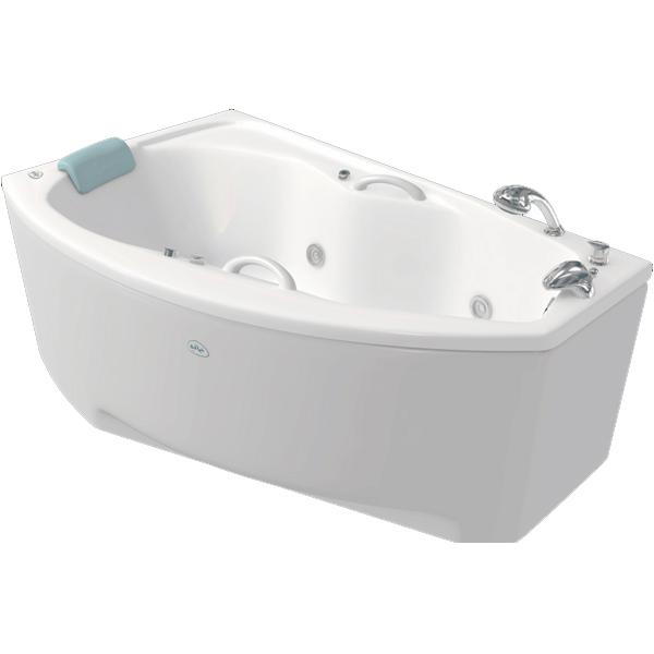Адель 168x100 с гидромассажем RВанны<br>Акриловая ванна Bellrado Адель 167,5x100x68 асимметричной формы, армированная.<br>Ванна изготовлена из литьевого акрила, литой лист толщиной 5 мм, и усилена стекловолокном с полиэфирными смолами. Толщина стенок – 6-7 мм. Усиливающие дно и места крепления корпуса элементы, толщина – 22-24 мм. Лицевой слой – акрил ПММА, устойчив к царапинам, УФ лучам, коррозийному и химическому воздействию, долго сохраняет блеск.<br>Цвет чаши ванны: чистый холодный белый. <br>Ванна Адель прекрасно подойдет для ванной стандартного размера. В данную комплектацию входит 6 гидромассажных джет. Расположение форсунок выверено с анатомической точки зрения. Джеты регулируются по направлению и силе массажной струи, а также по количеству воздуха (чем больше воздуха в струе, тем она шире и мощнее). Таким образом, гидромассаж можно настроить индивидуально. Благодаря креплению двигателя к подставке ванны с помощью амортизаторов, снижающих шум и вибрацию, гидромассаж работает практически беззвучно.<br>В комплекте поставки:<br>акриловая чаша ванны<br>стальной каркас – надежная конструкция, профиль 25х25, толщина 1,5 см, порошковое напыление, не поддается коррозии<br>слив-перелив Vega полуавтоматдве ручки6 гидромассажных джет Sirem (Франция) с мощностью 900 Вт.<br>Уход: с использованием безабразивных мягких средств. <br>Данная ванна реставрируема (из ремонтнопригодного материала).Данная комплектация (правосторонняя) устанавливается в левый угол.<br>