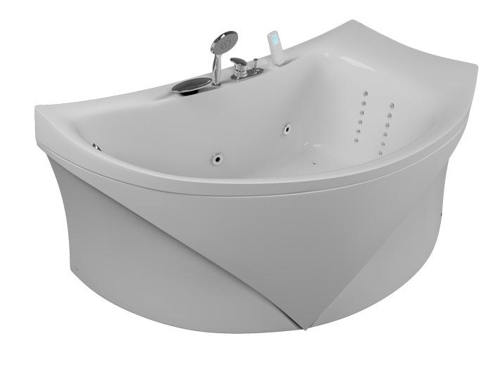 Готика РефлексаВанны<br>Акриловая ванна Aquatika Готика. В комплекте: гидромассаж (сенсорное управление, 6 форсунок), аэромассаж (10 форсунок), спинной массаж (12 форсунок), слив-перелив, МП-Релакс.<br>