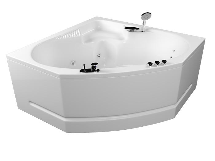 Серена Без гидромассажаВанны<br>Акрилова ванна Aquatika Серена со сливом-переливом.<br>