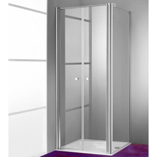 Design Pure 90 510641.092.321 Профиль хром, стекло прозрачноеДушевые ограждения<br>Стеклянная дверь для душевого уголка Huppe Design Pure 90 510641.092.321 распашная, двойная.<br><br>Витраж: прозрачный.<br>Безосколочное ударопрочное стекло.<br>Толщина стекла: 8 мм.<br>Цвет профиля: глянцевый хром.<br>Прессованные алюминиевые профили.<br>Подъемно-опускной механизм открывания двери.<br>Система быстрого монтажа.<br>Диапазон регулировки монтажной ширины: 875-905 мм.<br><br>