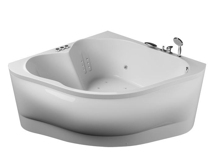 Матрица БазикВанны<br>Акриловая ванна Aquatika Матрица в комплектации Базик включает в себя: гидромассаж (пневматическое управление 6 форсунок), слив перелив. Фронтальная панель приобретается отдельно.<br>