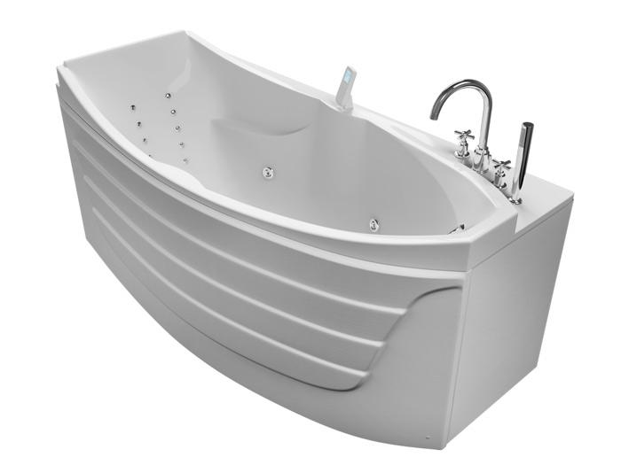 Аврора Без гидромассажаВанны<br>Акриловая ванна Aquatika Аврора со сливом-переливом.<br>