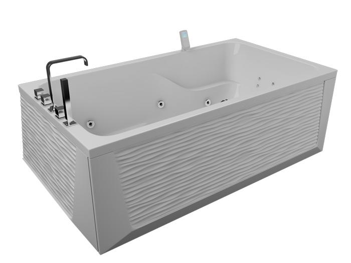 Аксиома РефлексаВанны<br>Акриловая ванна Aquatika Аксиома. В комплекте: гидромассаж (сенсорное управление, 6 форсунок), аэромассаж (10 форсунок), спинной массаж (12 форсунок), слив-перелив, МП-Релакс.<br>