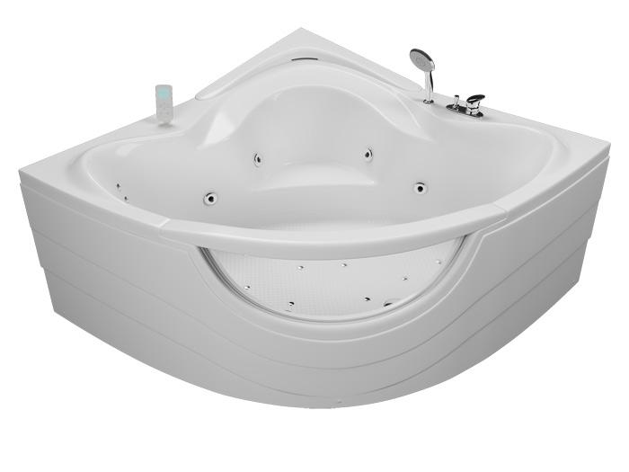 Аквариум БазикВанны<br>Акриловая ванна Aquatika Аквариум в комплектации Базик включает в себя: гидромассаж (пневматическое управление 6 форсунок), слив перелив. Фронтальная панель приобретается отдельно.<br>
