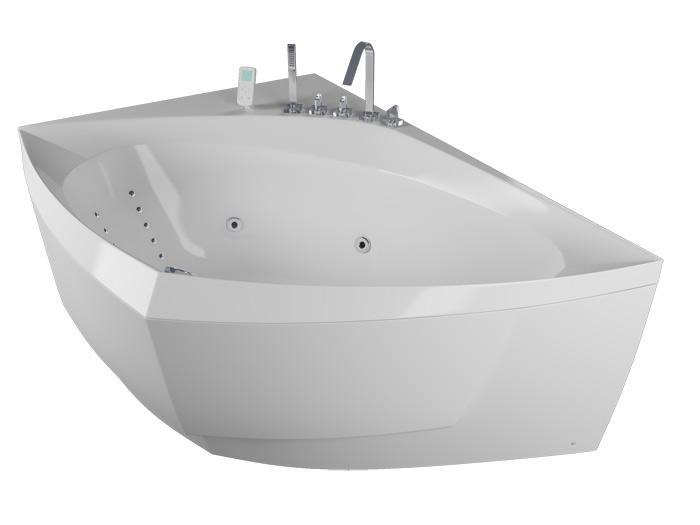 Альпина БазикВанны<br>Акриловая ванна Aquatika Альпина. В комплекте: гидромассаж (пневматическое управление, 6 форсунок), слив-перелив.<br>