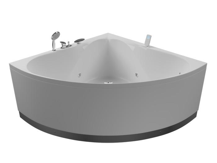 Эволюция Без гидромассажаВанны<br>Акриловая ванна Aquatika Эволюция со сливом переливом, без гидромассажа и фронтальной панели.<br>