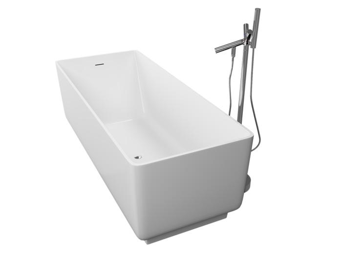 Моно Без гидромассажаВанны<br>Акриловая ванна Aquatika Моно на жесткой раме-каркасе со сливом-переливом.<br>
