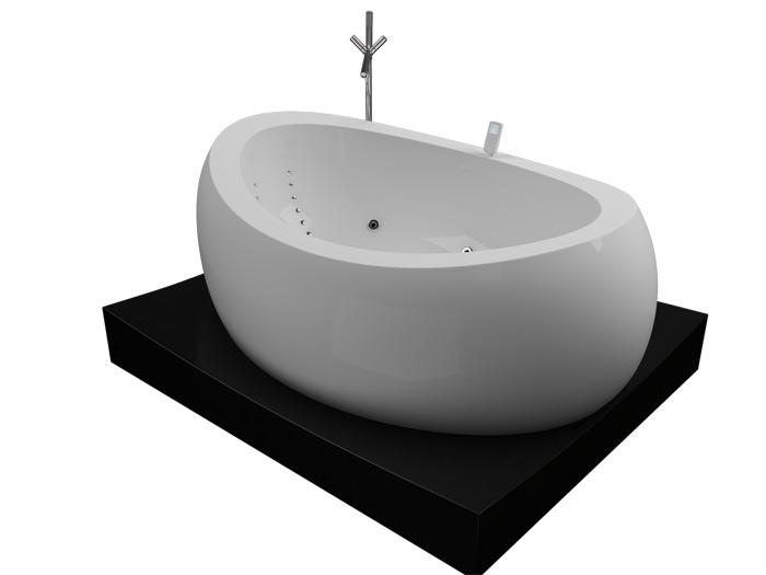 Сабзеро Без гидромассажаВанны<br>Акриловая ванна Aquatika Сабзеро с подиумом в комплекте.<br>