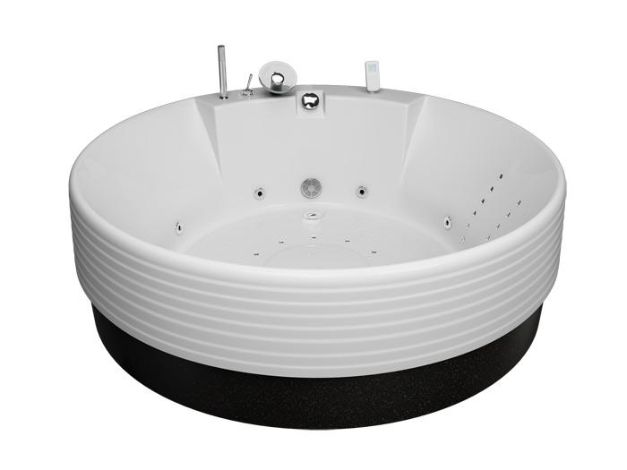 Колизей РефлексаВанны<br>Акриловая ванна Aquatika Колизей. В комплекте: гидромассаж (сенсорное управление, 6 форсунок), аэромассаж (10 форсунок), спинной массаж (12 форсунок), слив-перелив, МП-Релакс.<br>