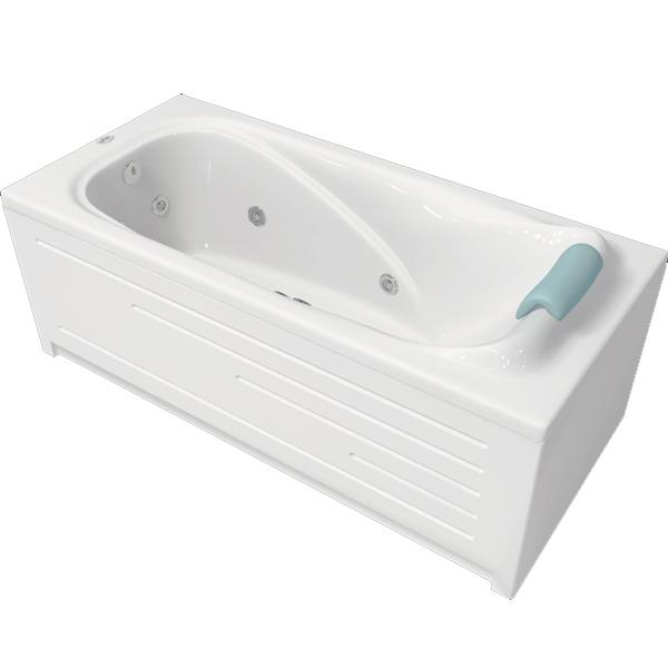 Классик 169x78 без гидромассажаВанны<br>Акриловая ванна Bellrado Классик 169x77x66 см прямоугольная, армированная.<br>Ванна изготовлена из литьевого акрила, литой лист толщиной 5 мм, и усилена стекловолокном с полиэфирными смолами. Толщина стенок – 6-7 мм. Усиливающие дно и места крепления корпуса элементы, толщина – 22-24 мм. Лицевой слой – акрил ПММА, устойчив к царапинам, УФ лучам, коррозийному и химическому воздействию, долго сохраняет блеск.<br>Цвет чаши ванны: чистый холодный белый. <br>Ванна Классик - это оптимальная модель акриловой ванны. Она прекрасно подойдет для ванной комнаты стандартных размеров.<br>В комплекте поставки:акриловая чаша ванны<br>стальной каркас – надежная конструкция, профиль 25х25, толщина 1,5 см, порошковое напыление, не поддается коррозии<br>слив-перелив Vega полуавтоматУход: с использованием безабразивных мягких средств. Данная ванна реставрируема (из ремонтнопригодного материала).<br>