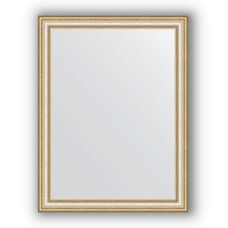 Зеркало Evoform Definite 85х65 Золотые бусы на серебре
