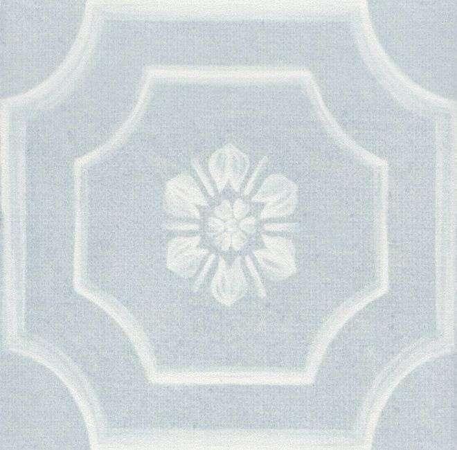 Керамический декор Kerama Marazzi Каподимонте голубой SG951400N/7/33034/7 10х10 см керамический багет kerama marazzi каподимонте голубой blc004 5х30 см