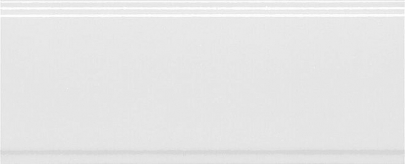 купить Керамический бордюр Kerama Marazzi Марсо белый обрезной BDA011R 12х30 см по цене 314 рублей