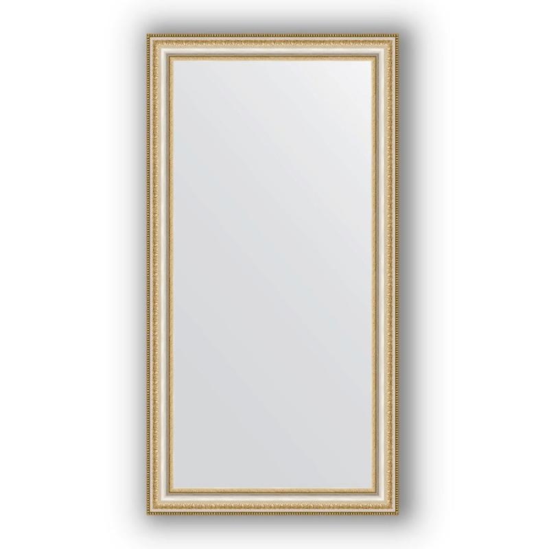 Зеркало Evoform Definite 105х55 Золотые бусы на серебре