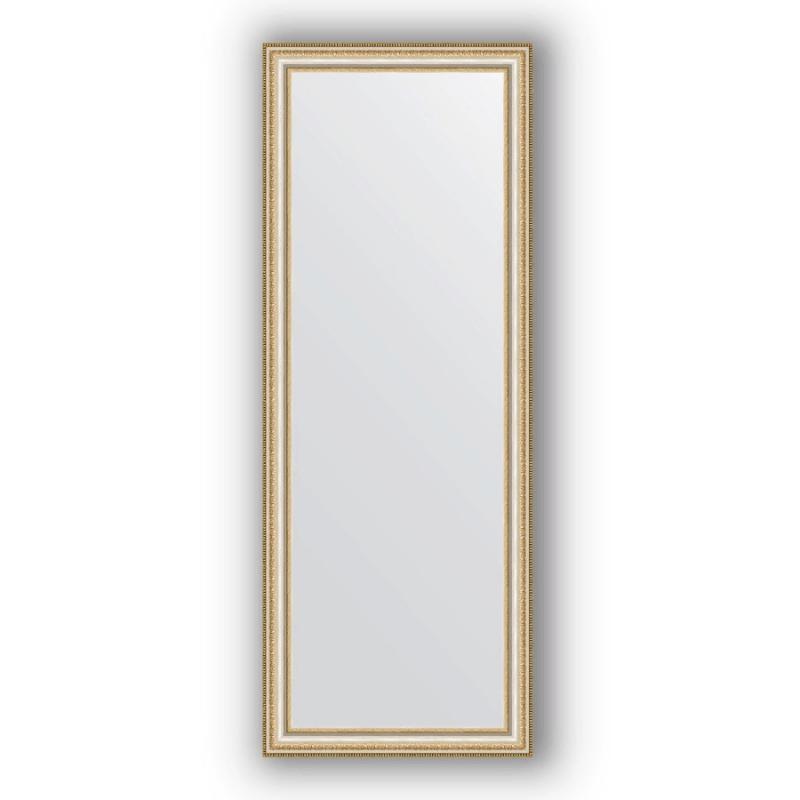 Зеркало Evoform Definite 145х55 Золотые бусы на серебре
