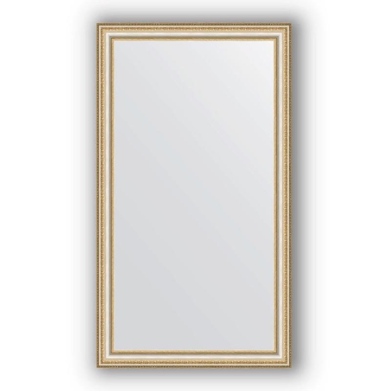 Зеркало Evoform Definite 115х65 Золотые бусы на серебре