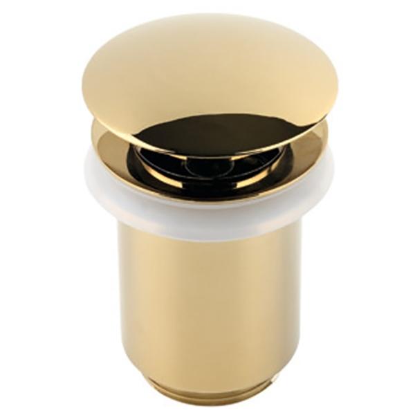 Донный клапан Timo 8011/07 Золото стеллаж для сушки оттисков sh 8011