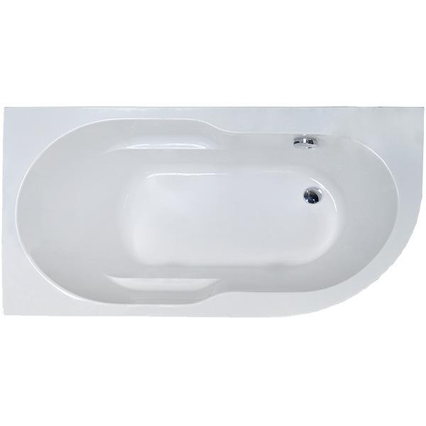Акриловая ванна Royal Bath Azur 140x80 L RB614200L без гидромассажа ванна royal bath azur rb 61
