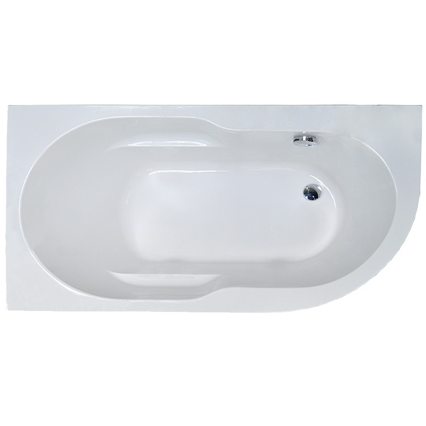 Акриловая ванна Royal Bath Azur 150x80 L RB614201L без гидромассажа акриловая ванна royal bath hardon 200х150 rb083100k без гидромассажа