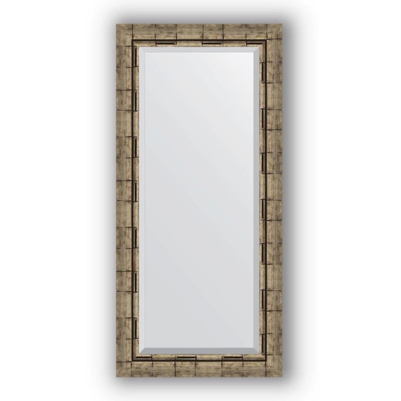 Зеркало Evoform Exclusive 113х53 Состаренное серебро с плетением зеркало evoform exclusive 133х53 состаренное серебро с плетением
