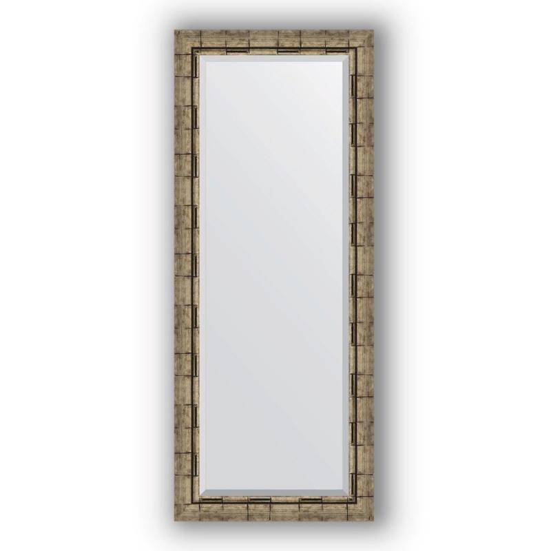 Зеркало Evoform Exclusive 143х58 Состаренное серебро с плетением зеркало evoform exclusive 133х53 состаренное серебро с плетением