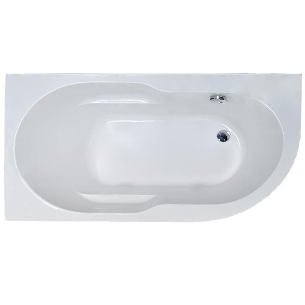 Акриловая ванна Royal Bath Azur 160x80 L RB614202L без гидромассажа акриловая ванна royal bath hardon 200х150 rb083100k без гидромассажа