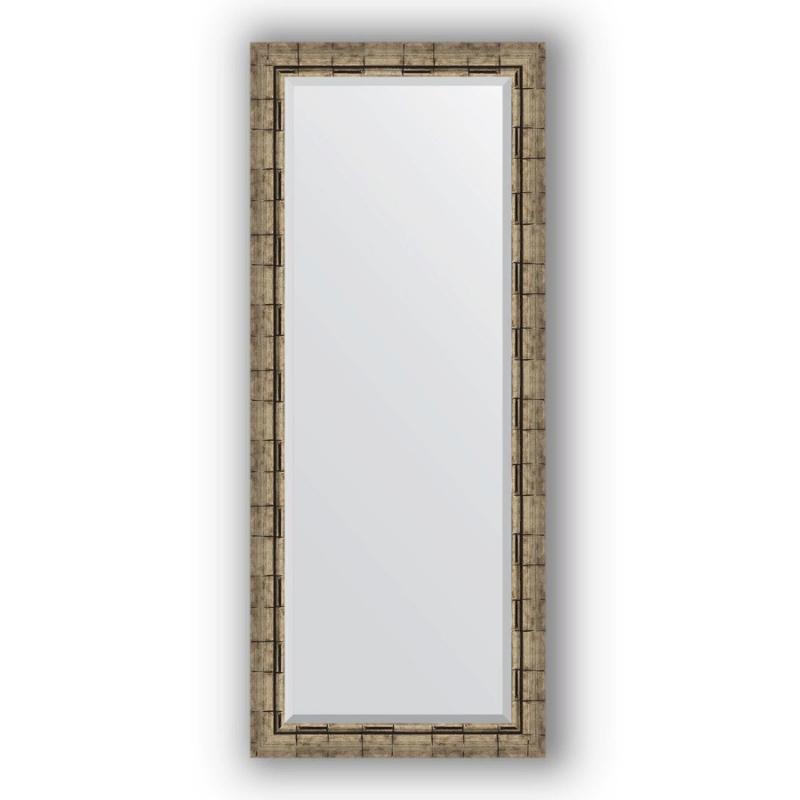 Зеркало Evoform Exclusive 153х63 Состаренное серебро с плетением зеркало evoform exclusive 133х53 состаренное серебро с плетением