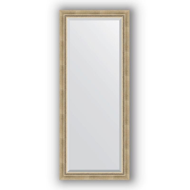 Зеркало Evoform Exclusive 153х63 Серебряный бамбук