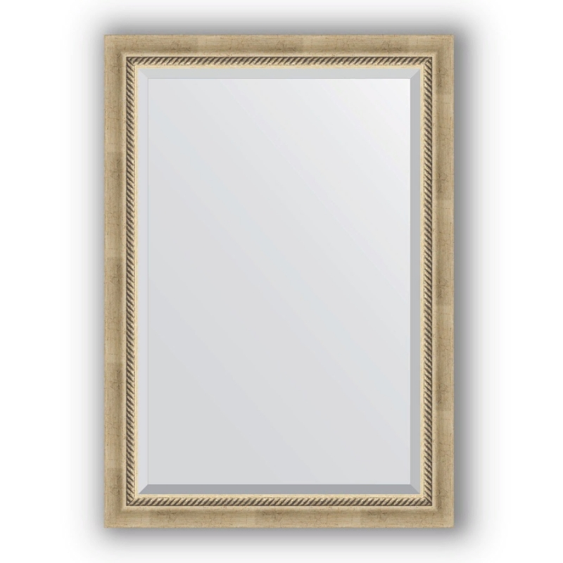 Зеркало Evoform Exclusive 103х73 Серебряный бамбук