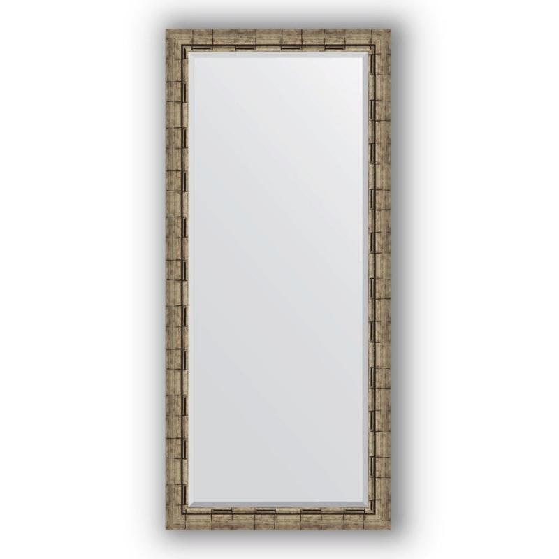 Зеркало Evoform Exclusive 163х73 Состаренное серебро с плетением зеркало evoform exclusive 133х53 состаренное серебро с плетением