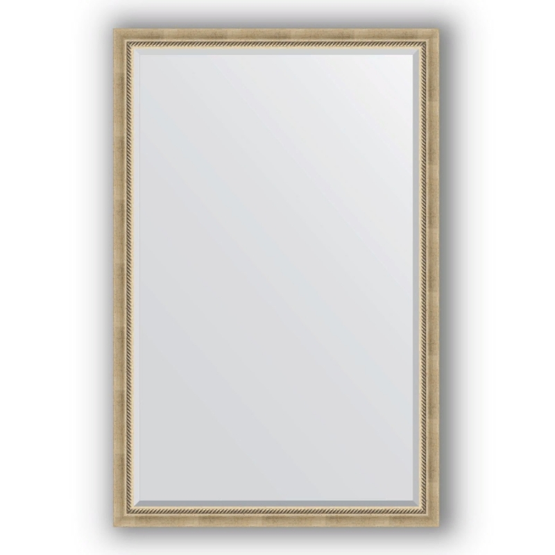 Зеркало Evoform Exclusive 173х113 Серебряный бамбук