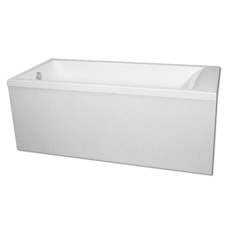 Ванна из искусственного камня Castone Кроха 150x73 Белая