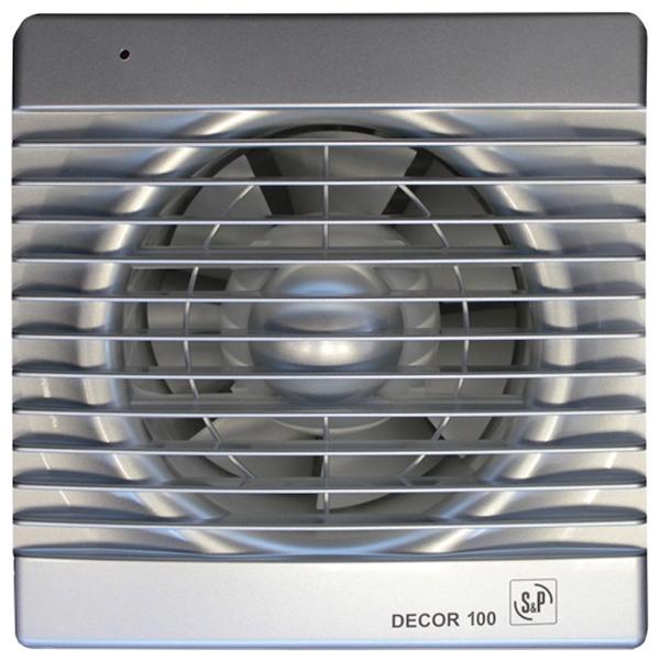 Вытяжной вентилятор Soler&Palau Decor 100C SILVER 13 Вт