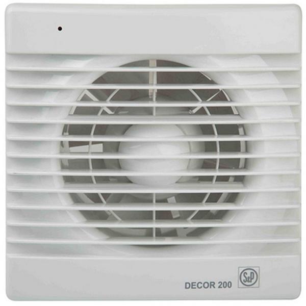 Вытяжной вентилятор Soler&Palau Decor 200C 20 Вт цена и фото
