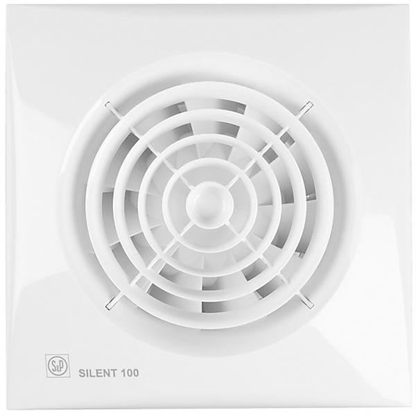 Вытяжной вентилятор Soler&Palau SILENT-100 CZ 8 Вт