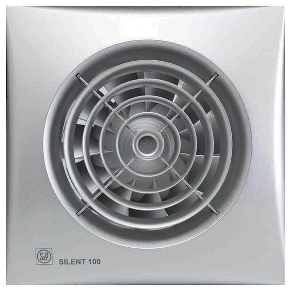 Вытяжной вентилятор Soler&Palau Silent-100 CZ Silver 8 Вт