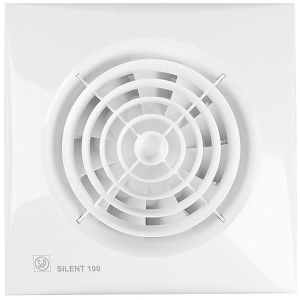 Вытяжной вентилятор Soler&Palau SILENT-100 CRZ 8 Вт crz