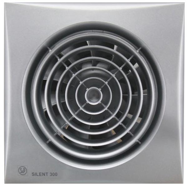 Вытяжной вентилятор Soler&Palau SILENT-300 CZ SILVER 29 Вт