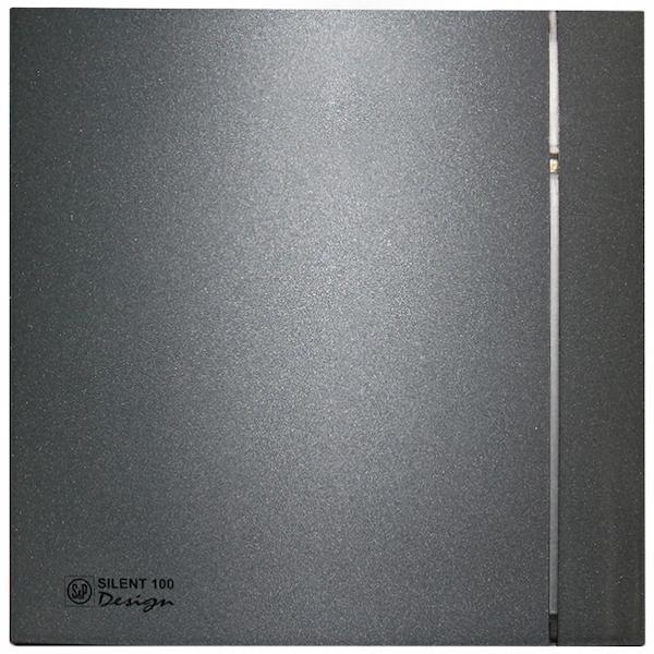 Вытяжной вентилятор Soler&Palau Silent-100 CZ Grey Design-4C 8 Вт