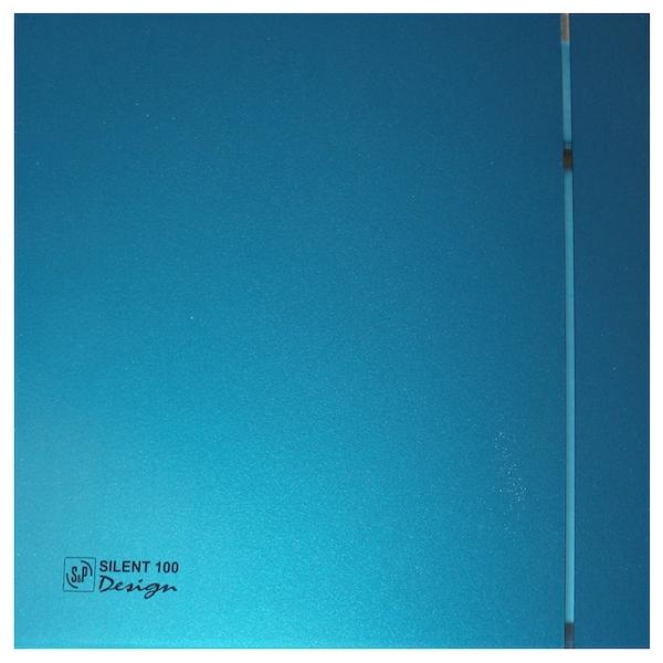 Вытяжной вентилятор Soler&Palau SILENT-100 CZ Blue Design 4C 8 Вт
