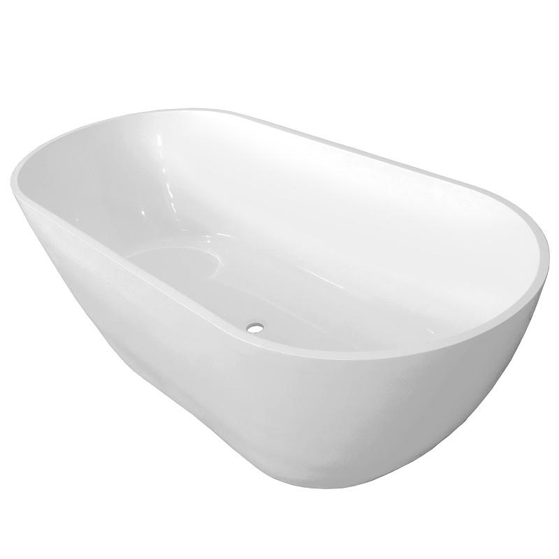 Ванна из искусственного камня Castone Эдем 170x80 в цвете Ral без перелива ванна из искусственного камня эстет венеция 170x80 r в цвете ral