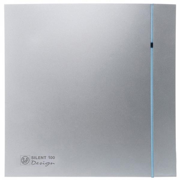 Вытяжной вентилятор Soler&Palau SILENT-100 CRZ SILVER DESIGN 8 Вт crz