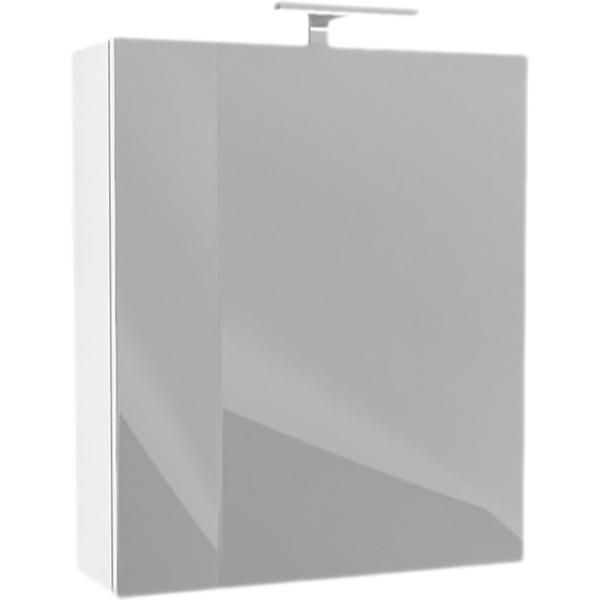 Зеркальный шкаф Iddis Mirro 50 с подсветкой Белый