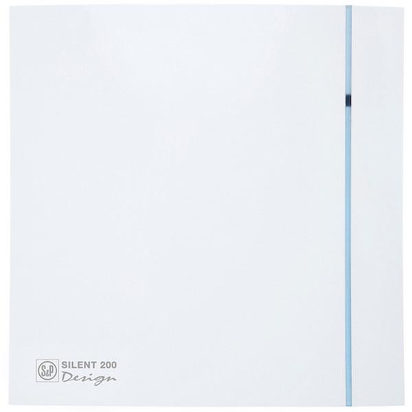 Вытяжной вентилятор Soler&Palau Silent-200 CZ Design-3C 16 Вт