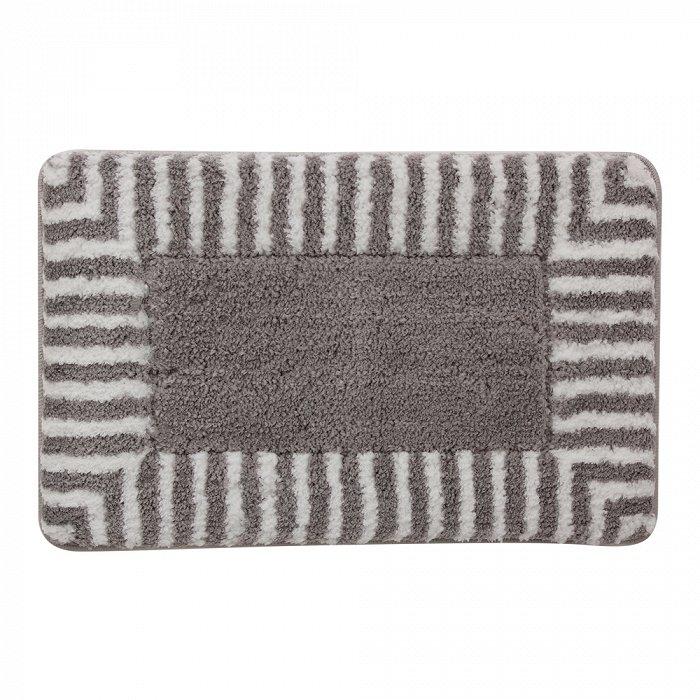 Фото - Коврик для ванной комнаты Iddis Basic B02M580i12 500x800 Серый коврик iddis decor d12c580i12 темно серый
