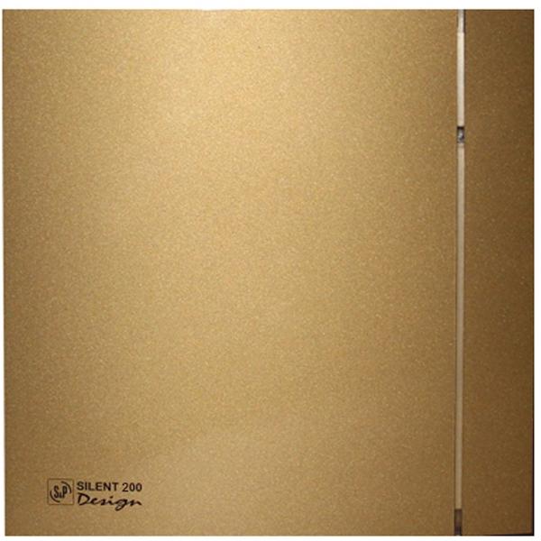 Вытяжной вентилятор Soler&Palau SILENT-200 CZ Gold Design 4C 16 Вт